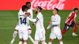 Real Madrid v Atletico Madrid: Champions close gap with another precious win