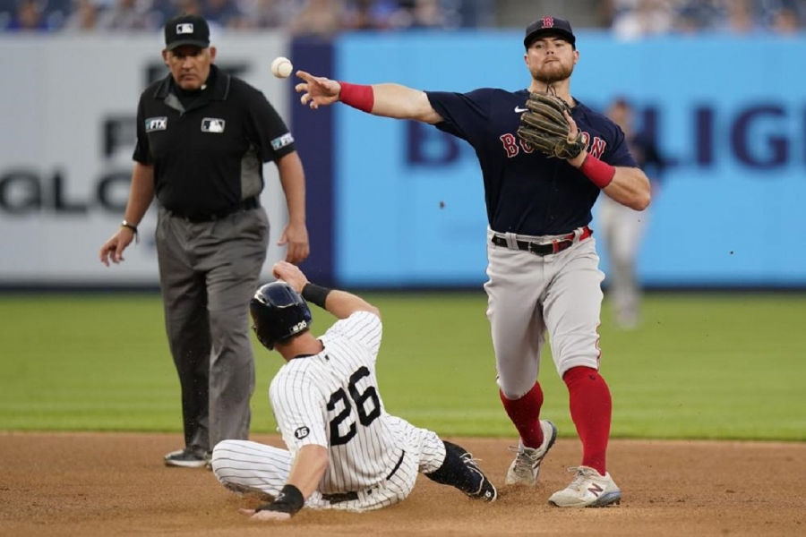 Boston Red Sox v New York Yankees: Red Sox stifle short-handed Yanks with Judge on COVID IL