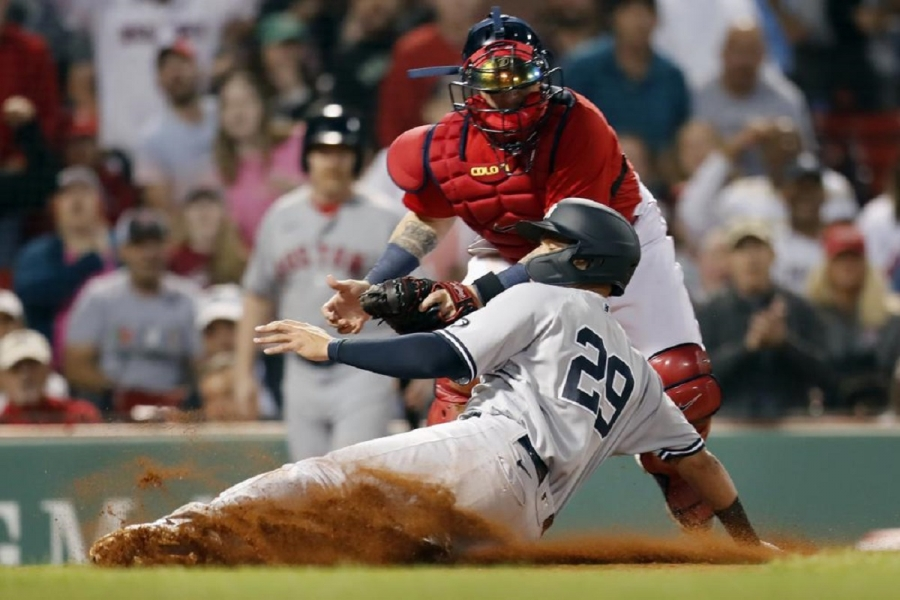 New York Yankees v Boston Red Sox: Red Sox hold on for 4th straight win over Yankees