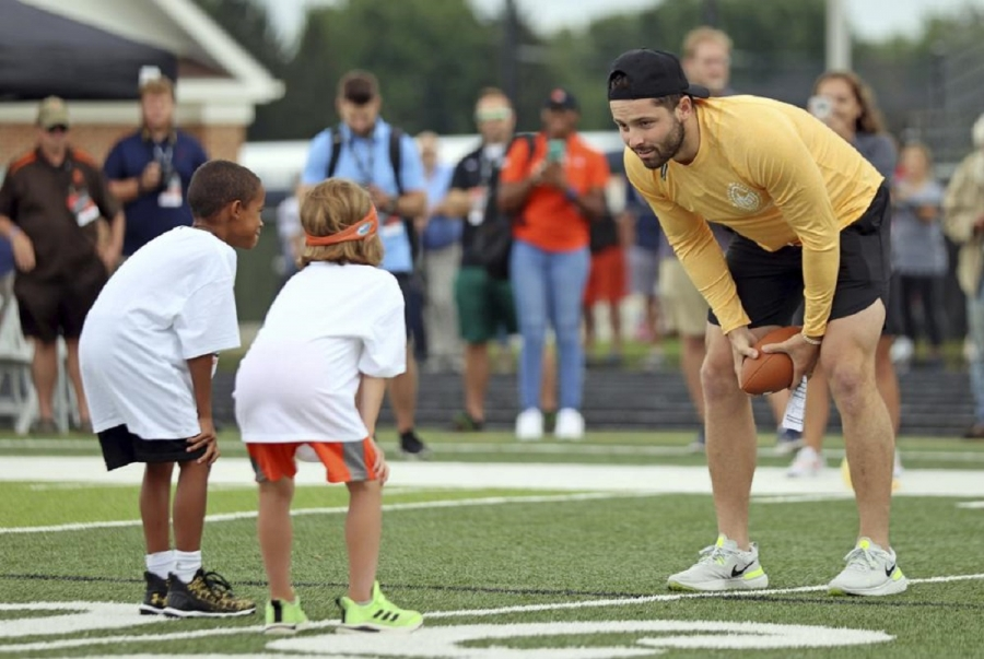 Browns QB Mayfield not stressing about contract situation