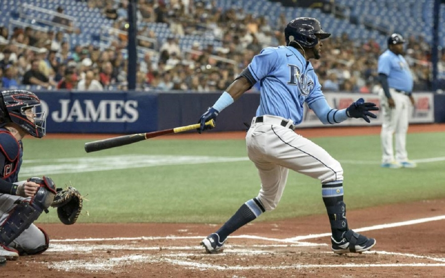 Cleveland Indians v Tampa Bay Rays: Kiermaier drives in 5 runs, Rays extend Indians' skid to 8