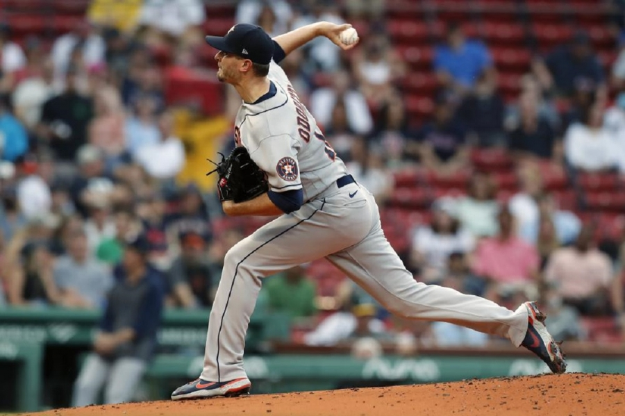 Houston Astros v Boston Red Sox: Odorizzi solid in 1st win since '19, Astros beat Red Sox
