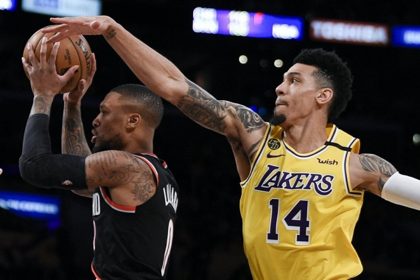 Lakers return after Bryant's death, lose to Blazers