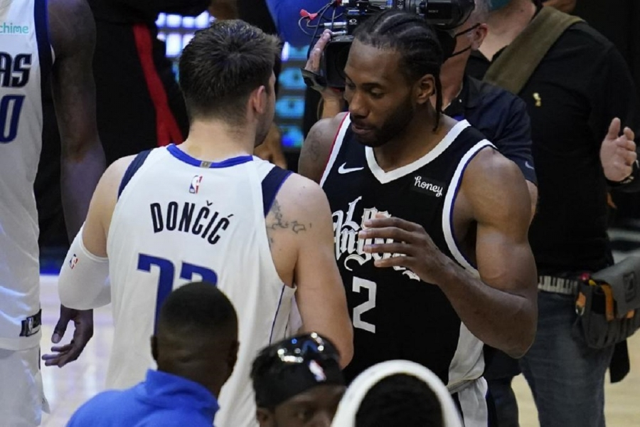 Dallas Mavericks v Los Angeles Clippers: Home sweet home: Clippers beat Mavs to win series