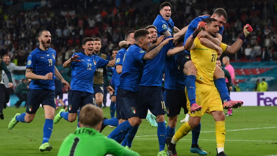 Italy v England: Gareth Southgate's side fall to penalty shootout defeat at Wembley in Euro 2020 final