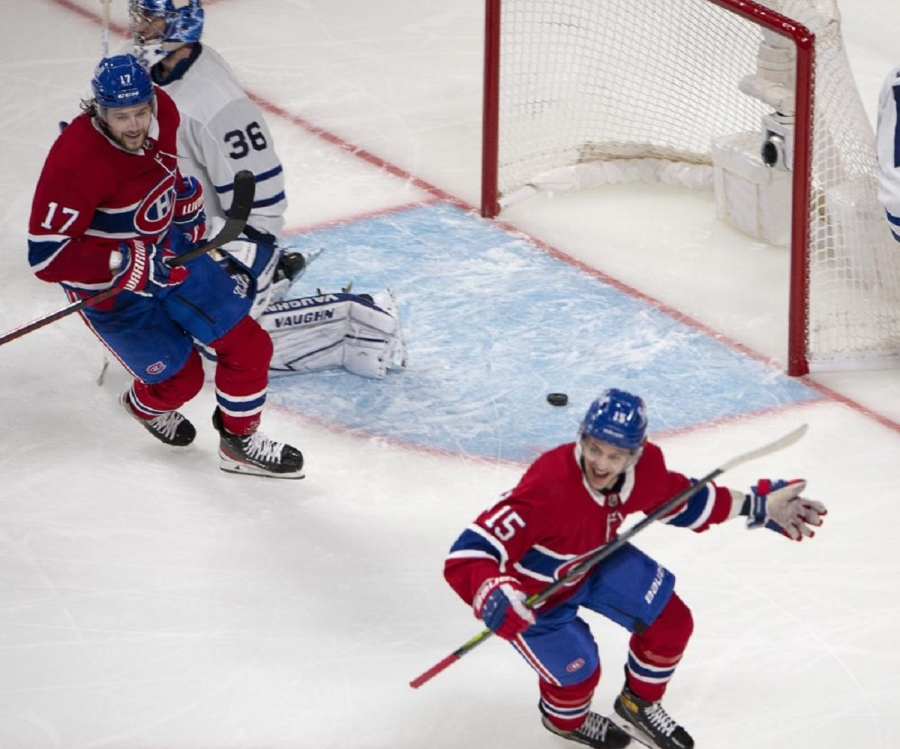 Toronto Maple Leafs v Montreal Canadiens: Canadiens beat Maple Leafs in OT to force Game 7