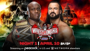 Drew McIntyre: Happy opening or closing WrestleMania 37 night one