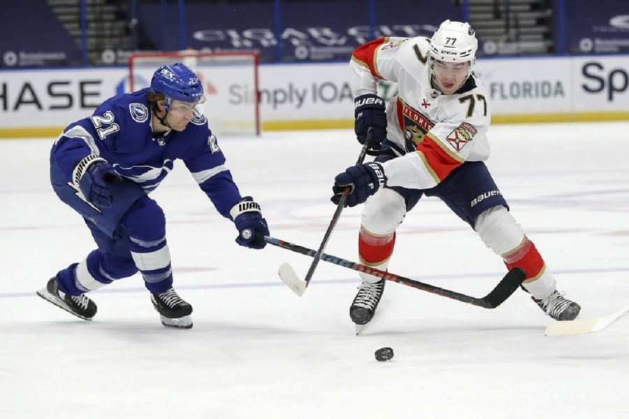 Florida Panthers v Tampa Bay Lightning: Panthers close in on Central-leading Lightning with win