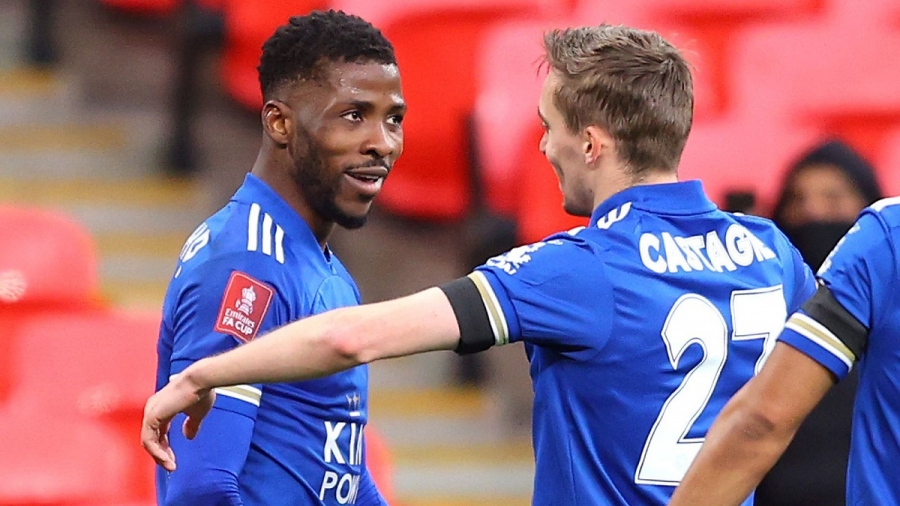 Leicester v Southampton: Kelechi Iheanacho spears Foxes into FA Cup final in front of spectators