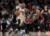 Blazers beat Heat in Iguodala's debut for Miami