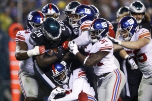 Eagles rally past Manning, Giants in OT