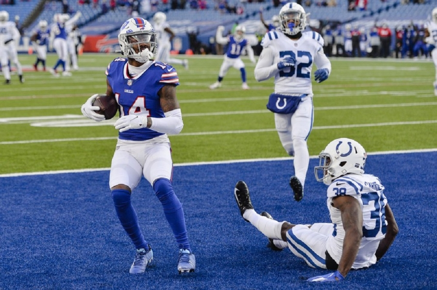 Indiana Colts v Buffalo Bills: Bills beat Colts for 1st playoff win in 25 years
