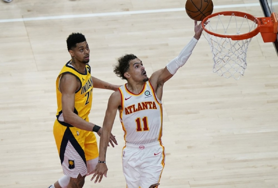 Indiana Pacers v Atlanta Hawks: Young, Capela power Hawks past Pacers