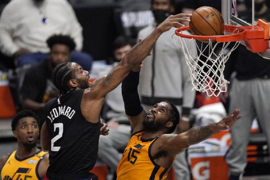 Utah Jazz v Los Angeles Clippers: Leonard, George each score 31, Clippers tie series with Jazz