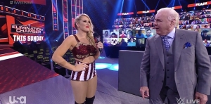 Lacey Evans announces REAL pregnancy on WWE Raw