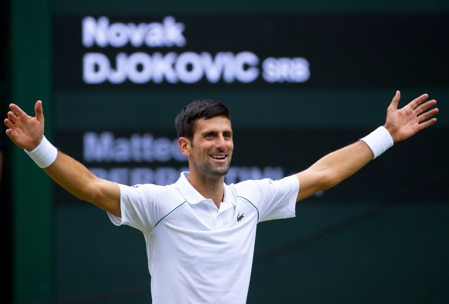 Djokovic becomes first player to qualify for ATP Finals after Wimbledon win